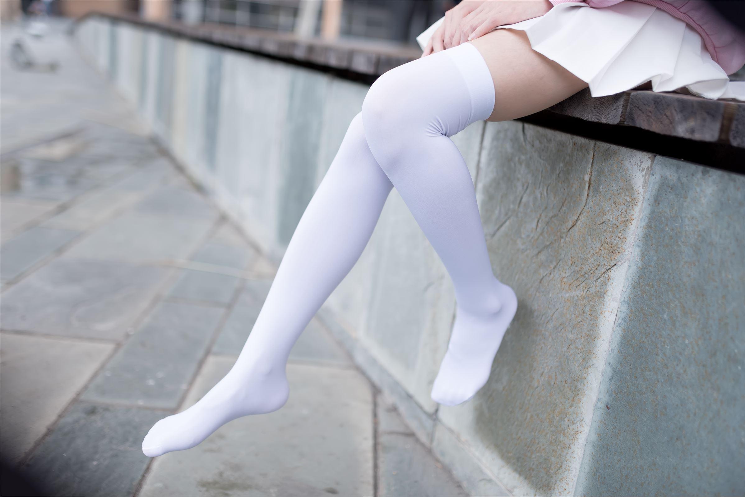 风之领域写真 NO.001 白丝超短裙