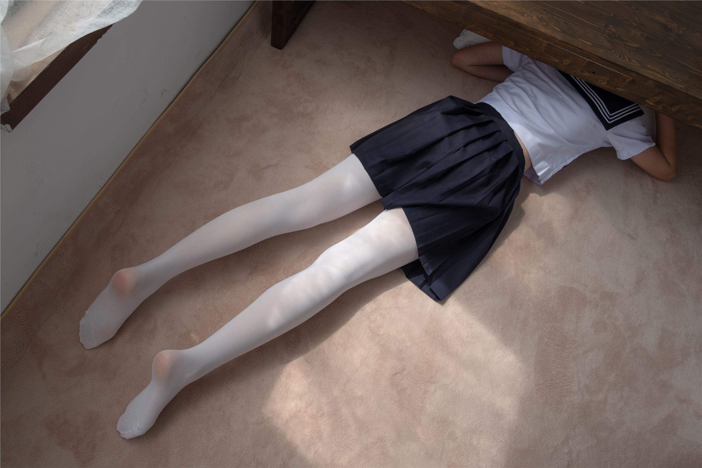爱花写真 - ALPHA-003  白丝水手服