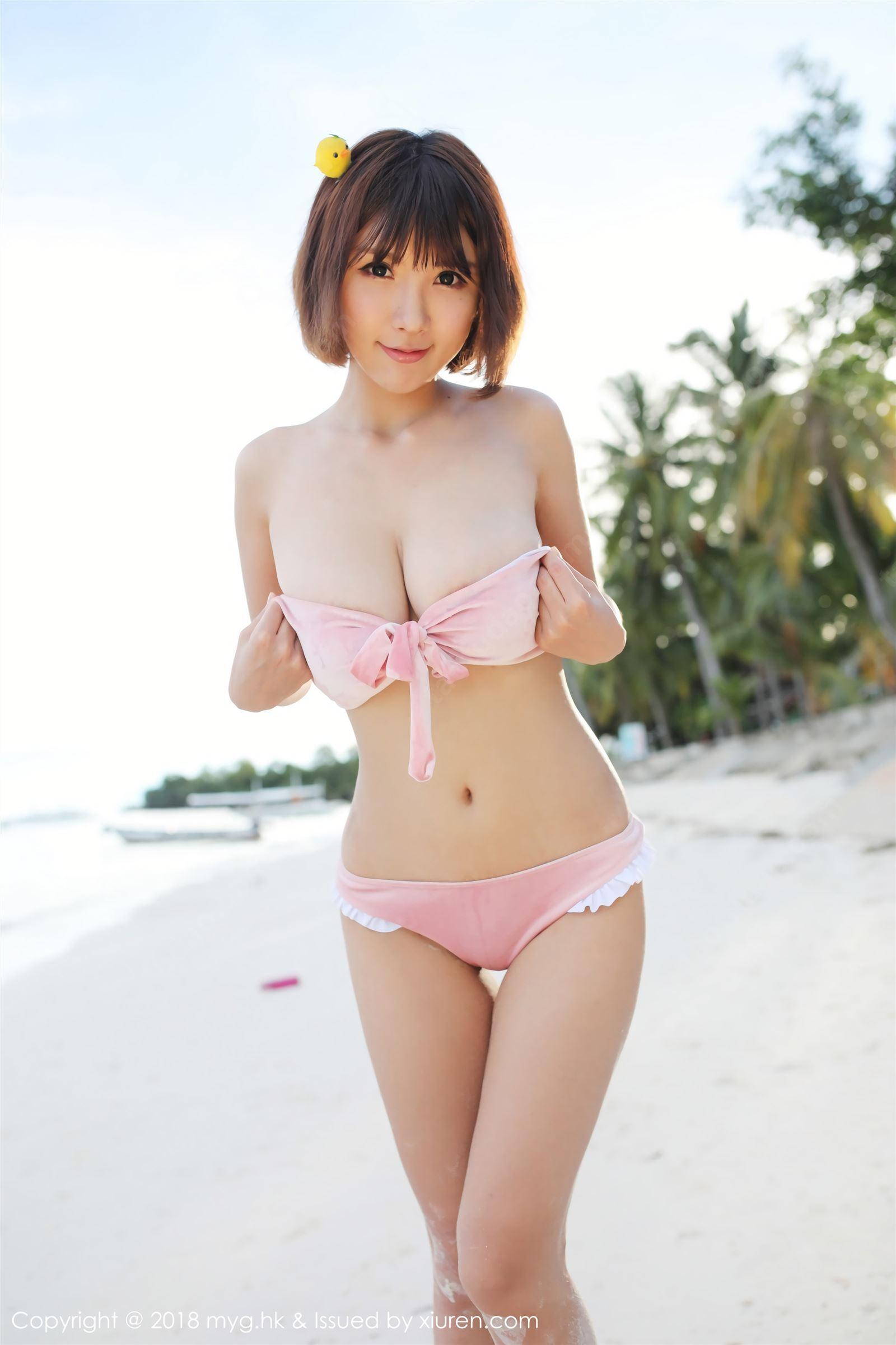 MyGirl 美媛馆 2018.08.27 VOL.308 晓茜sunny