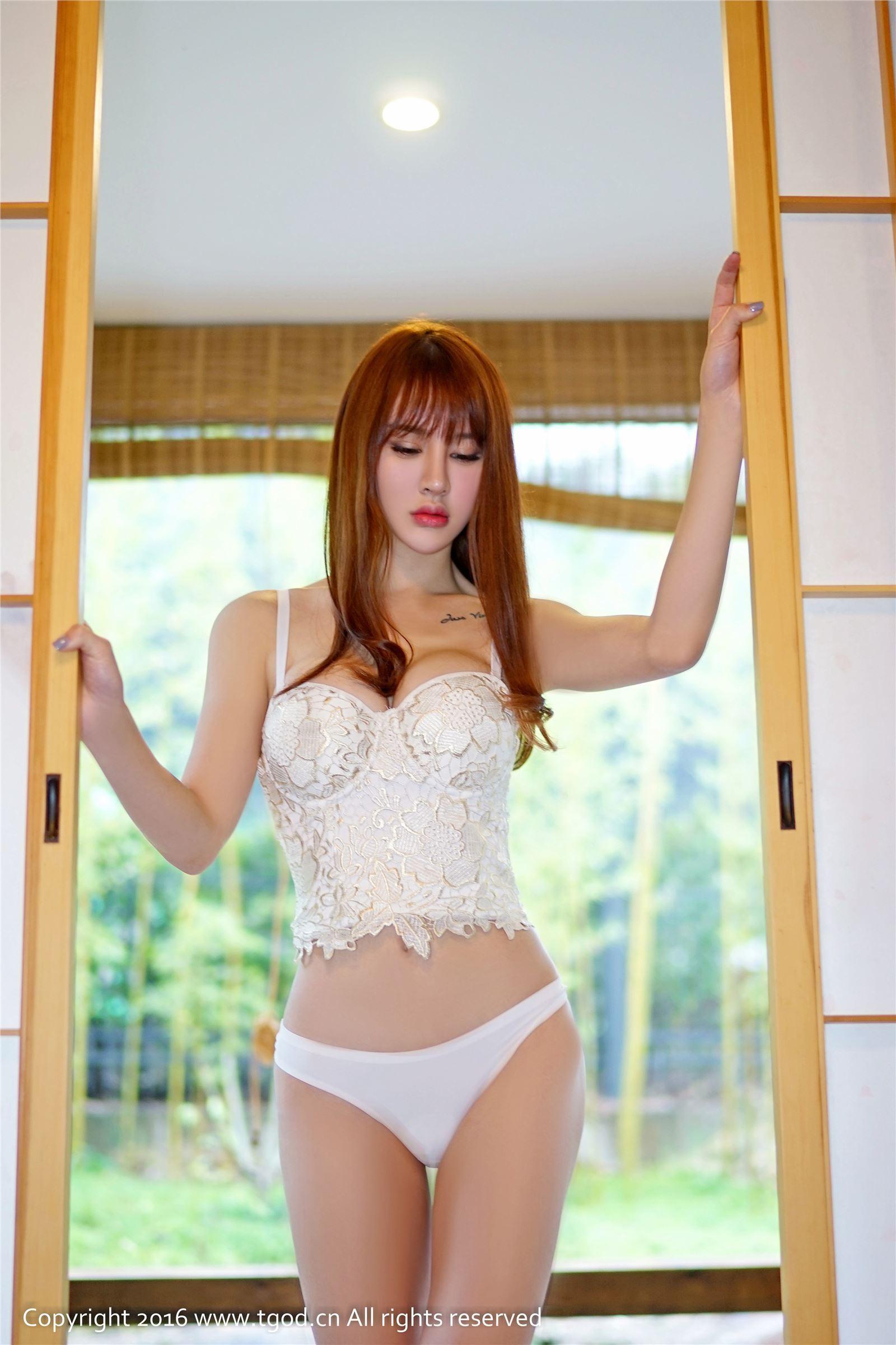 TGOD 推女神 2016-03-09 Cheryl青树 淡淡羞涩女神范